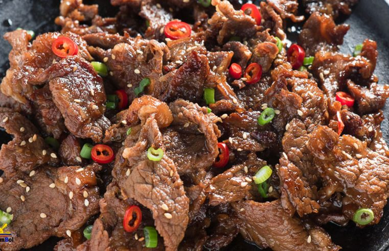 Beef Salpicao (Stir-fried Garlic Beef)