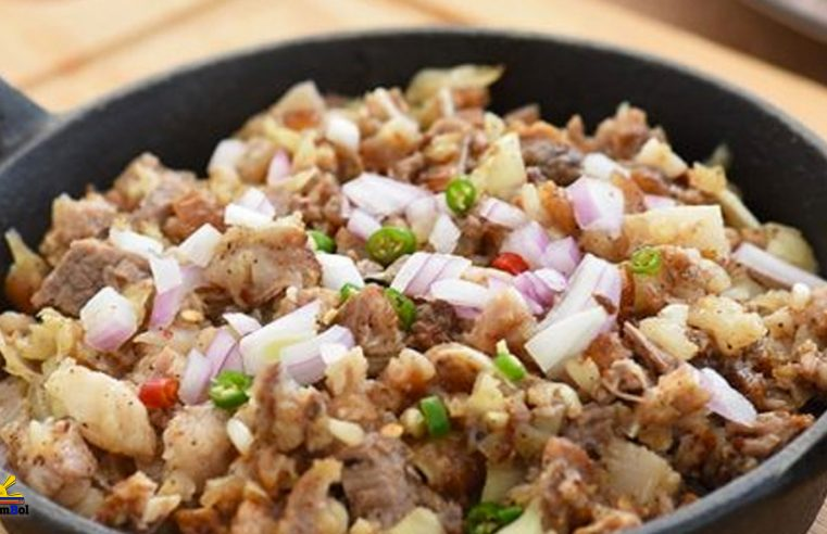 Sizzling Sisig (Sizzling Spicy Pork)