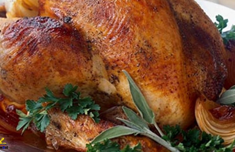 Roasted Turkey with Lemon Grass Stuffing