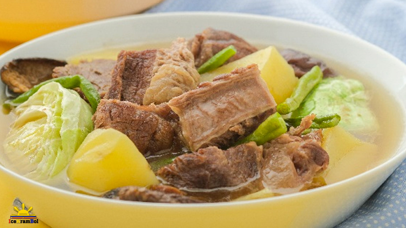 Sinigang na Baka (Beef in Sour Broth)